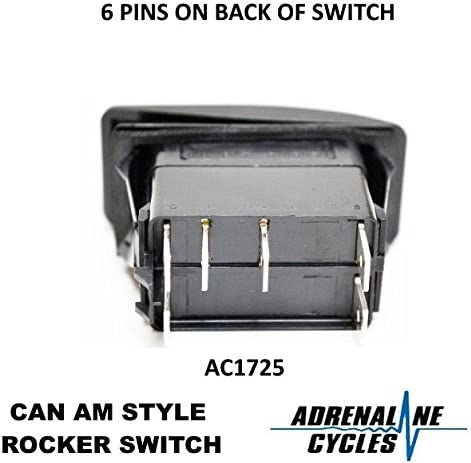 CAN AM STYLE LIKE 710001725 HEADLIGHT SWITCH #AC1725