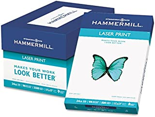 product image for Hammermill Laser Print Office Paper PAPER,LASERPRNT,11X17 24# (Pack of5)
