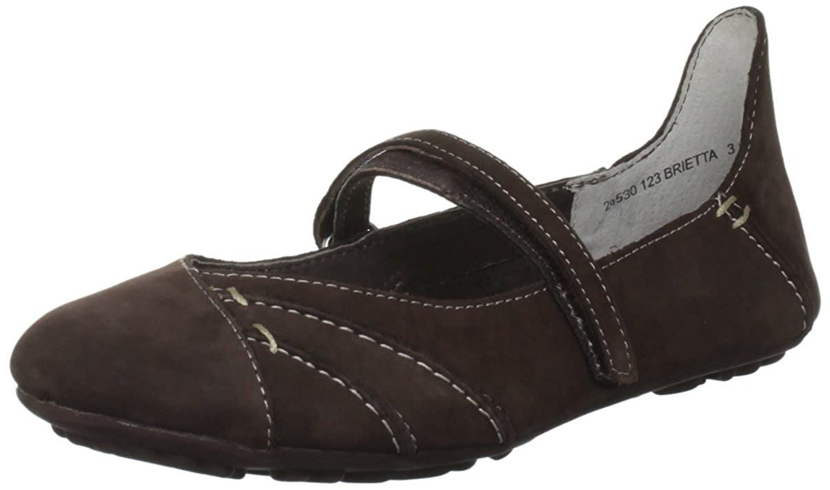 5c5e70ced4de Hush Puppies Women s Brietta Ballet Flats Brown Brown Waxy Nubuck 6.5 (40  EU)  Amazon.co.uk  Shoes   Bags