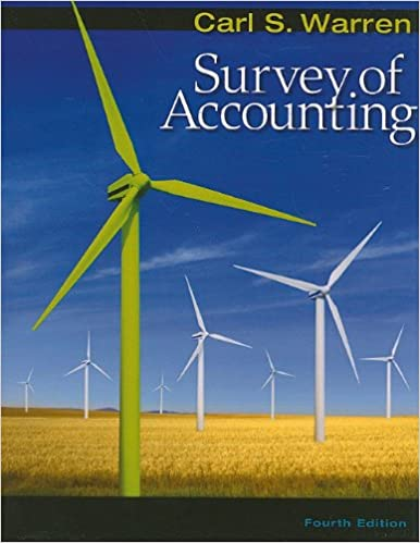 Amazon survey of accounting 9780538478144 carl s warren survey of accounting 4th edition fandeluxe Gallery