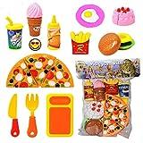 Vibgyor Vibes Kitchen Role Restaurant Role Pretend Play Fast Food Set
