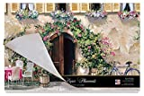 Cala Home 24-Pack Disposable Paper Placemats, Tuscan Doorways