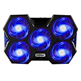 I-Star Laptop Cooling Pad, 2 USB Powered Silent Gaming Laptop Notebook Cooler Cooling