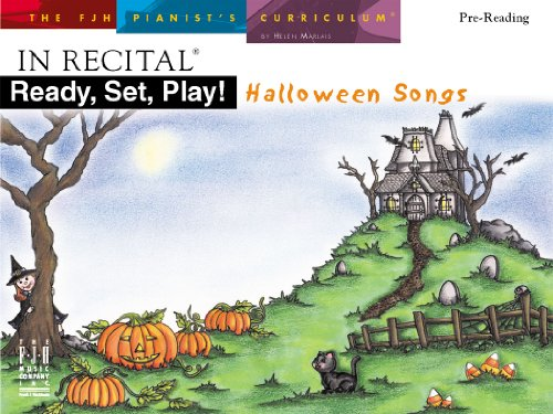 FJH2126 - In Recital Ready, Set, Play! Halloween Songs