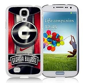 Georgia Bulldogs 02 White Cool Photo Custom Samsung Galaxy S4 I9500 Phone Case