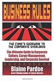 Business Rules, Blaine L. Pardoe, 1490998888