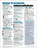 img - for Windows 10 Introduction Quick Reference Guide (Cheat Sheet of Instructions, Tips & Shortcuts - Laminated) Updated January 2019 book / textbook / text book