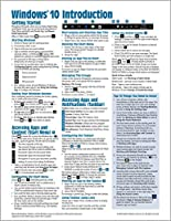 Windows 10 Introduction Quick Reference Guide (Cheat Sheet of Instructions, Tips & Shortcuts - Laminated) Updated Aug 2019