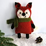 Knit Little Fox Amigurumi Pattern