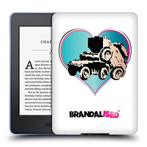 Official Brandalised Tank On Tank Banksy Wall Art Soft Gel Case Compatible for Kindle Paperwhite 1/2 / 3 (Banksy Kindle Case)