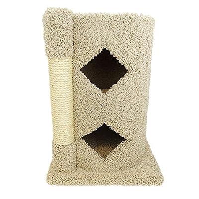 New Cat Condos Premier Solid Wood Cat Cavern from New Cat Condos -- DROPSHIP