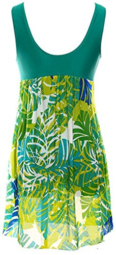 Costumi Pezzo Monokinis Donne Bagno interi Sawadikaa Costume Costumi da Coprire Annata Modello Verde un fwXxY6qnHt