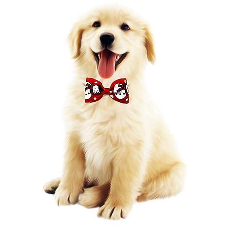 cuckoo-X - Lote de 8 Lazos para Mascotas, Perros, Gatos, Cachorros