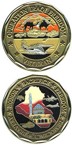 Operation Iraqi Freedom Veteran Challenge Coin