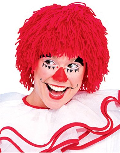 Rubie's Rag Doll Male Yarn Wig, Red, One Size ()