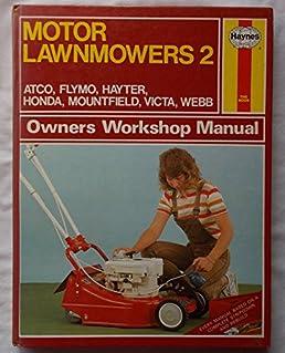 motor lawnmowers owner s workshop manual v 2 amazon co uk j m f rh amazon co uk Clymer Manuals Lawn Boy 10323 Manual