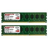 Komputerbay 8GB (2x 4GB) DDR3/DDR3L PC3-12800 1600MHz DIMM (240-Pin) Desktop Memory CL 11