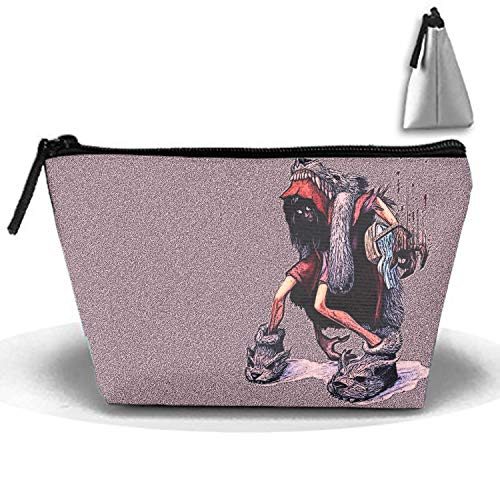 Little Red Riding Hood Makeup Bag women cosmetic bag Multifuncition Pencil Holder -