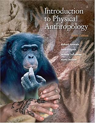 Introduction To Physical Anthropology Jurmain Pdf
