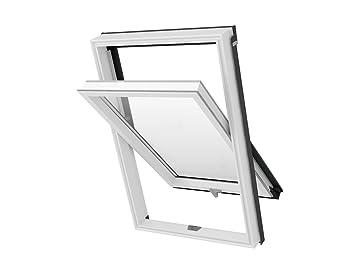 Solstro Fenêtre De Toit En Pvc 114 X 118 Cm Taille S06 S6a Sk06