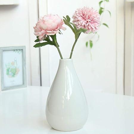 Faucetkai Statues Ceramics Vase Decoration Decoration Dried Flower Artificial Flower Arrangement Artificial Flower Floral Decoration A Amazon Co Uk Kitchen Home