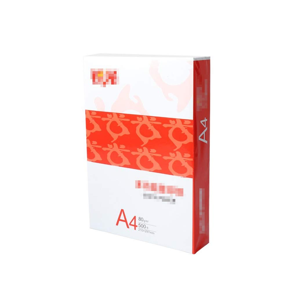 A4 Paper Printing Paper A4 Paper Multi-Purpose White Paper photocopying Paper 80g 500 Sheets/Pack Copy Paper a4 Paper Ream by JXLG