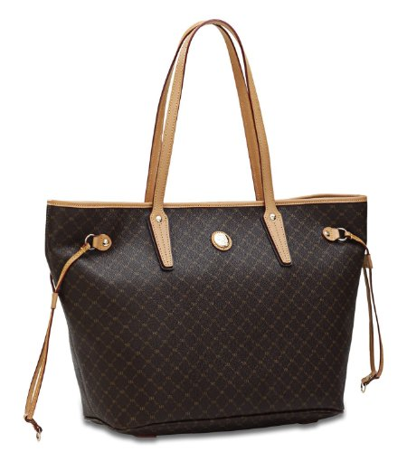 RIONI Signature Luxury Tote , Medium (Rioni Purses)