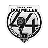 Official Los Angeles Kings Thank You Bob Miller 44 Years Retirement NHL Patch