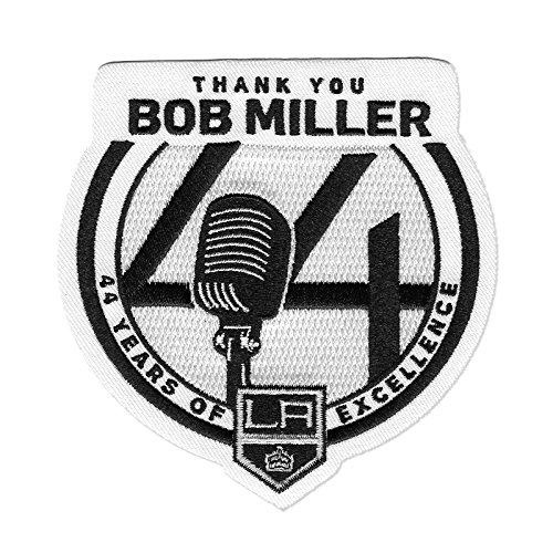 Official Los Angeles Kings Thank You Bob Miller 44 Years Retirement NHL Patch by Patch Collection
