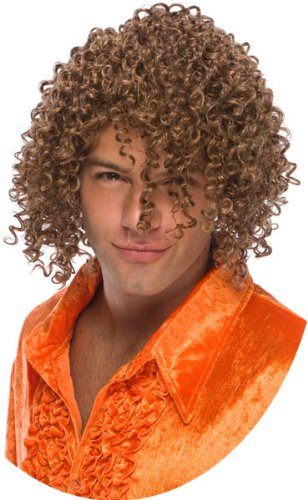 Curly Hair Wig for Men
