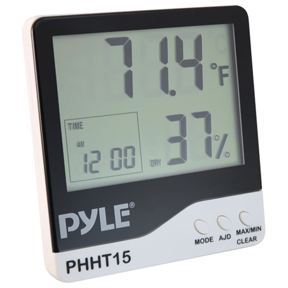 PYLE PHHT15 Indoor Digital Hygro-Thermometer Home & Garden by Pyle