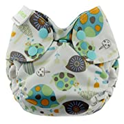 Blueberry Newborn Simplex All In One Cloth Diapers, Made in USA (Snails)
