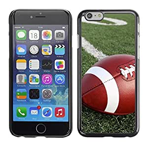 Graphic4You American Football Sports Design Hard Case Cover for Apple iPhone 6