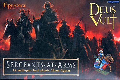 Sergeants at Arms - 28mm Hard Plastic figures by Fireforge Games FFG007