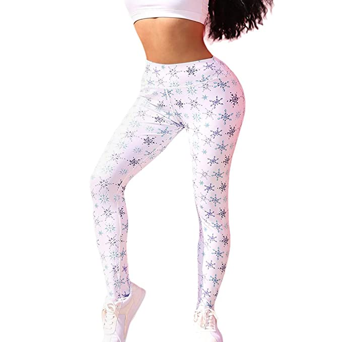 Amazon.com: Womens High Waist Legging Yoga Pants, AmyDong ...