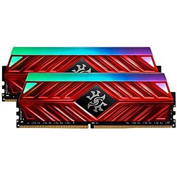XPG Spectrix D41 RGB DDR4 3200MHz 16GB (2x8GB) 288-Pin PC4-25600 Desktop U-DIMM Memory Retail Kit Red (AX4U320038G16-DR41)