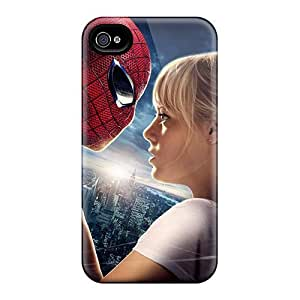 Awesome BJP1611Qwmu L.M.CASE Defender Tpu Hard Case Cover For Iphone 4/4s- Amazing Spider Man Emma Stone