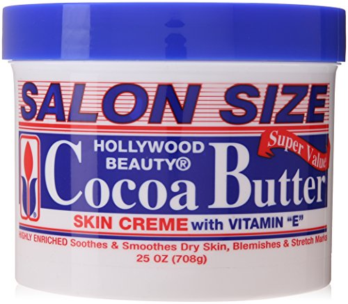 Hollywood Beauty Skin Creme, Cocoa Butter, 25 Ounce