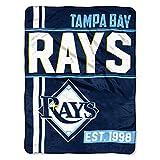 Rays OFFICIAL Major League Baseball, Triple Play 46 x 60 Micro Raschel Throw
