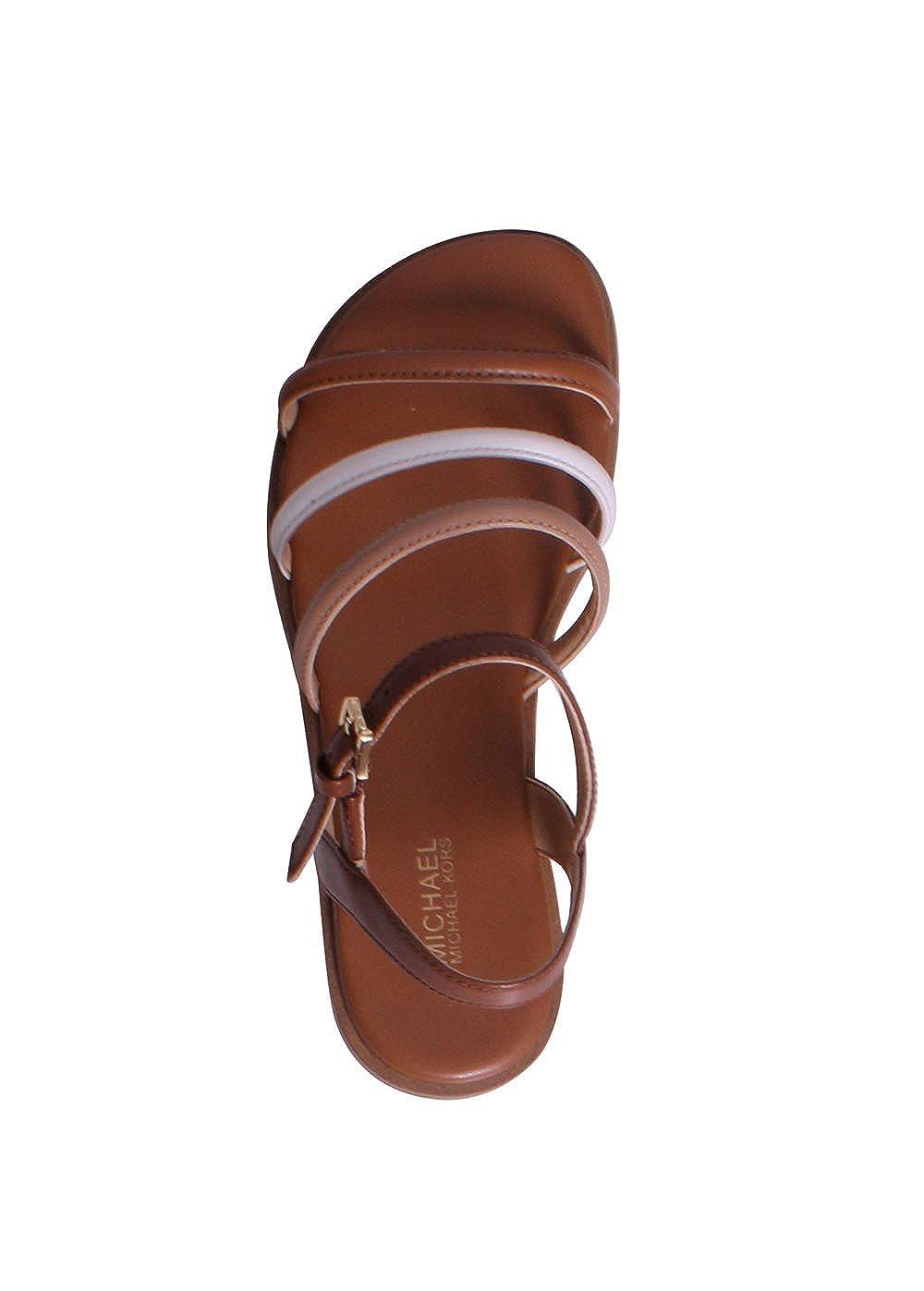 387304c41e Amazon.com | MICHAEL Michael Kors Women's Nantucket Flat Sandals | Flats