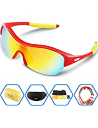 Torege Tr90 Flexible Kids Sports Sunglasses Polarized...