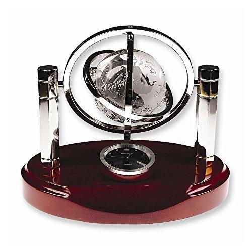 viStar Crystal Globe with Clock