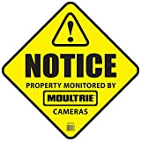 Cheap Moultrie Camera Surveillance Signs