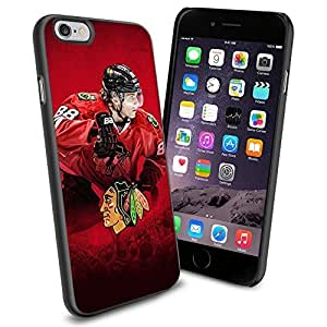 NHL Chicago Blackhawks Blackhawks Patrick Kane, Cool iPhone 4/4s Case Cover Collector iPhone TPU Rubber Case Black