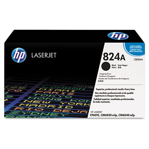 HP 824A (CB384A) Black Original LaserJet Image (Laser Printer Image Drum)