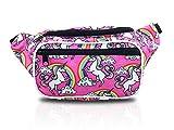 Rainbow Unicorn Designer Fanny Pack Waist Bag (Unicorn Pink)