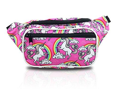 Rainbows and Unicorns Designer Fanny Pack Waist Bag