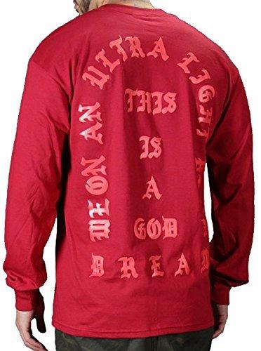 54a50540b07 I Feel Like Pablo Long Sleeve top Kanye west Yeezy  Amazon.co.uk  Clothing