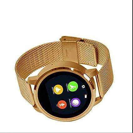 Alta calidad reloj inteligente, llamada manos libres Function, Ritmo Cardiaco Tracker, reloj inteligente