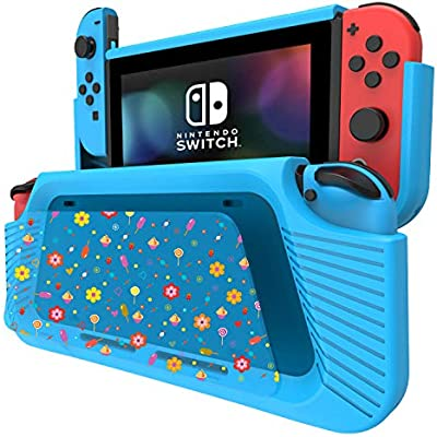 COODIO Funda Para Nintendo Switch, Funda Grip Deluxe Switch ...